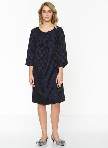 Asymmetry Elbise Mor